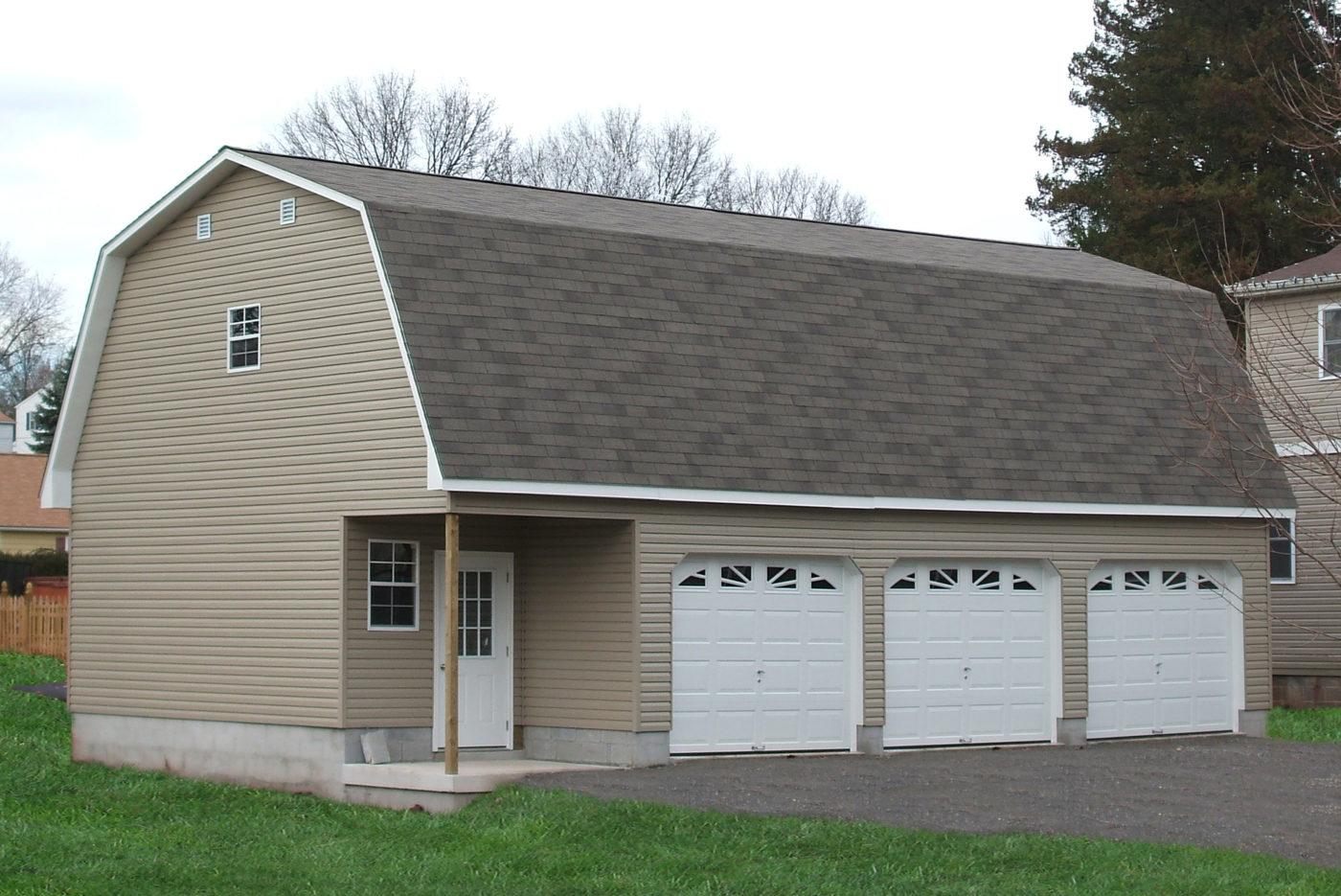 economical three car garage pa