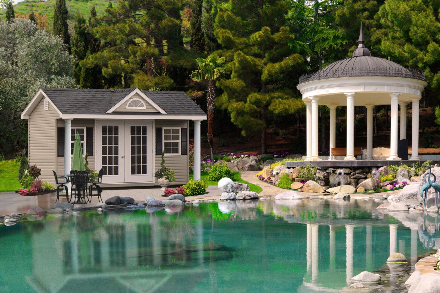 pool house pa