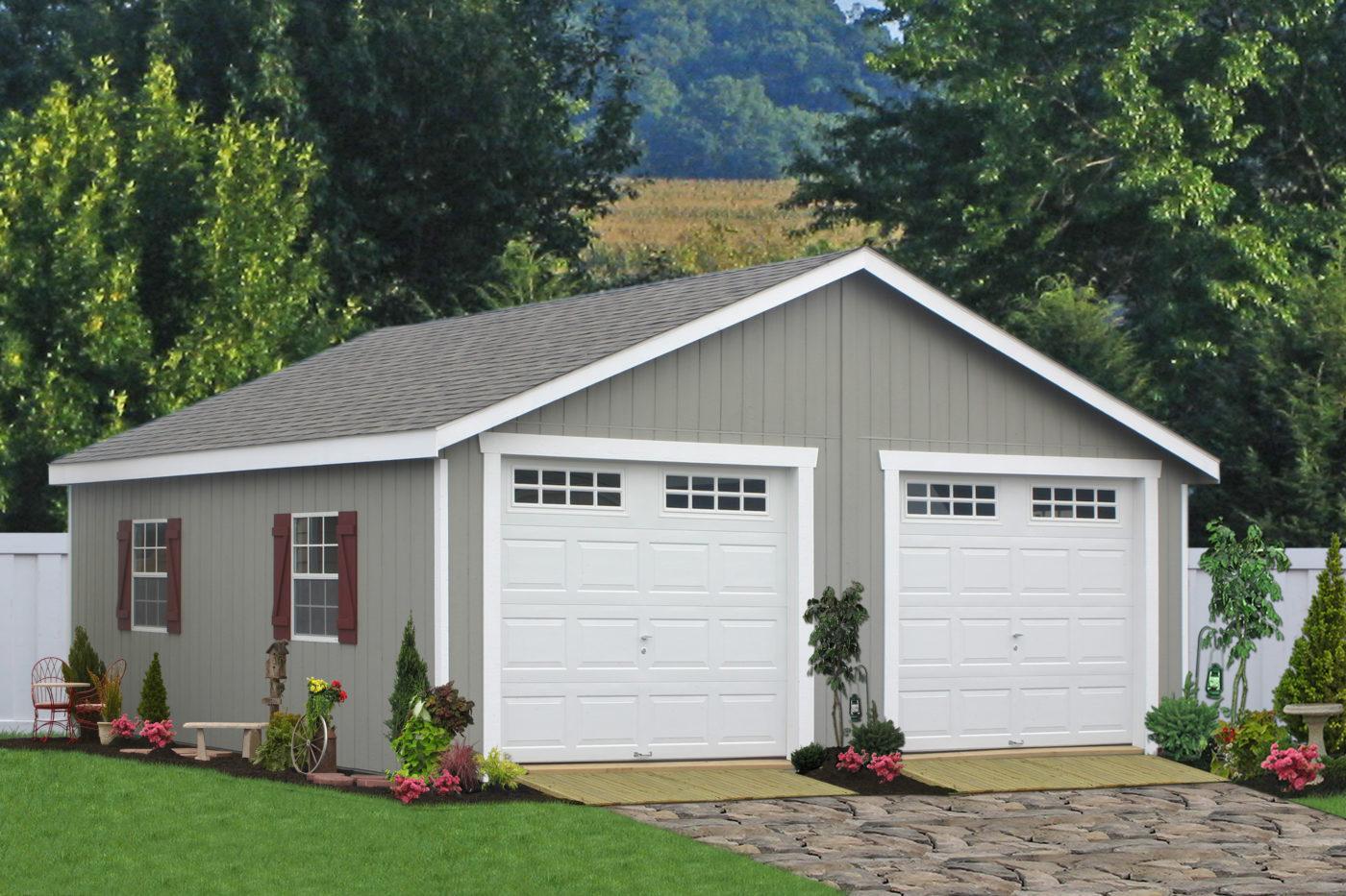 double wide garage pa