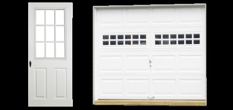 classic vinyl single car garage doors 1