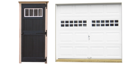single legacy garage doors 2