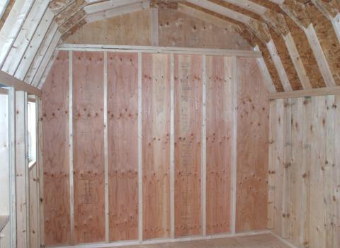 barn sheds interior photo