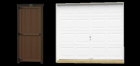 single car garage doors 1