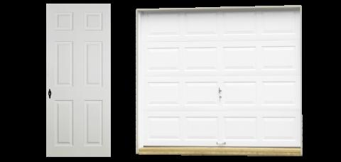 standard vinyl single car garage doors 1