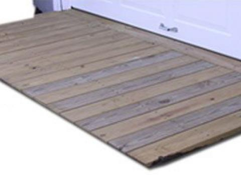 ramp for sheds