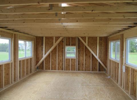 custom amish garage in nj