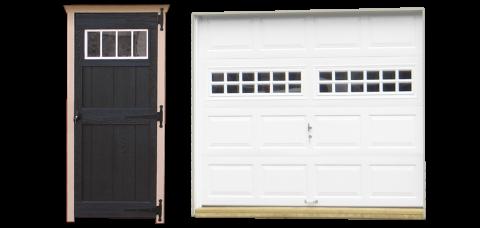 single legacy garage doors 1