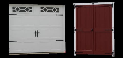 premier single car garage doors