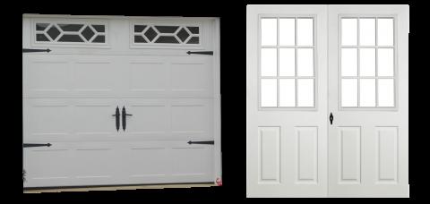 premier workshop vinyl single car garage doors