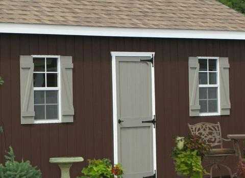 shed garage colors