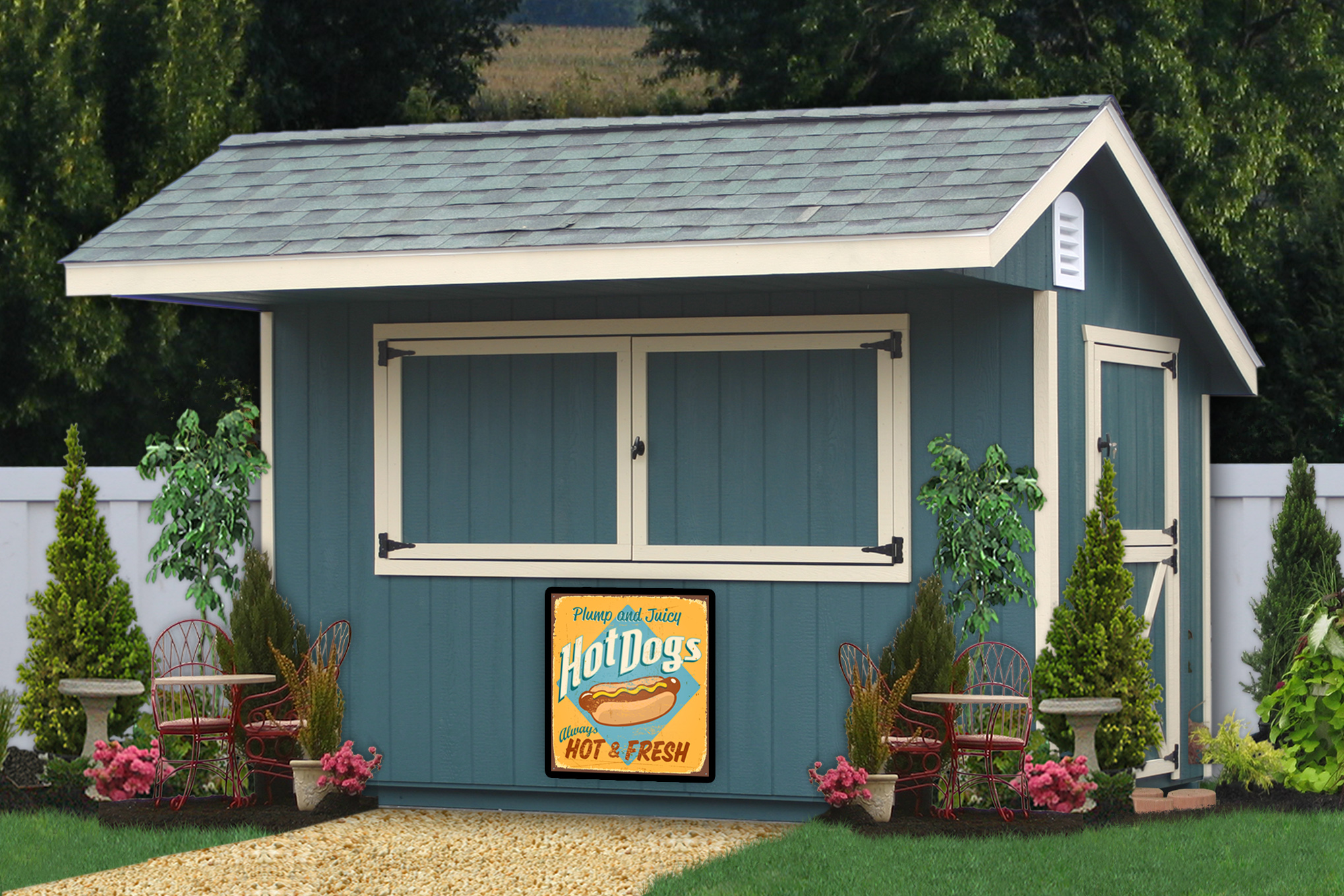 Storage sheds and prefab garages in pa photo 1519 for Sheds unlimited