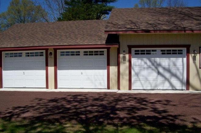 residential 3 car garage pa garage builder 0