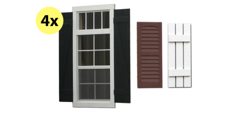 premier windows for portable sheds garages