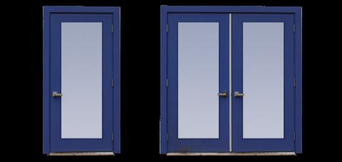 modern prehung shed garage doors glass