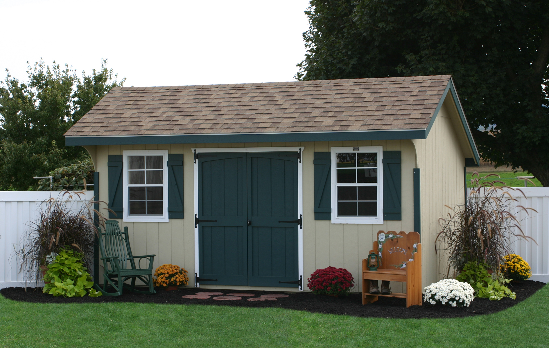Storage sheds and prefab garages in pa photo 1821 for Sheds unlimited