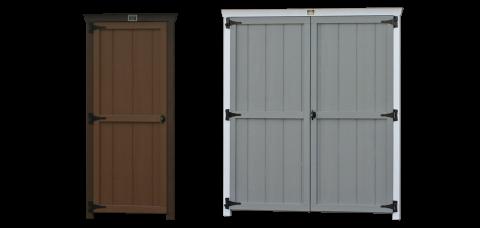 standard wooden shed garage doors