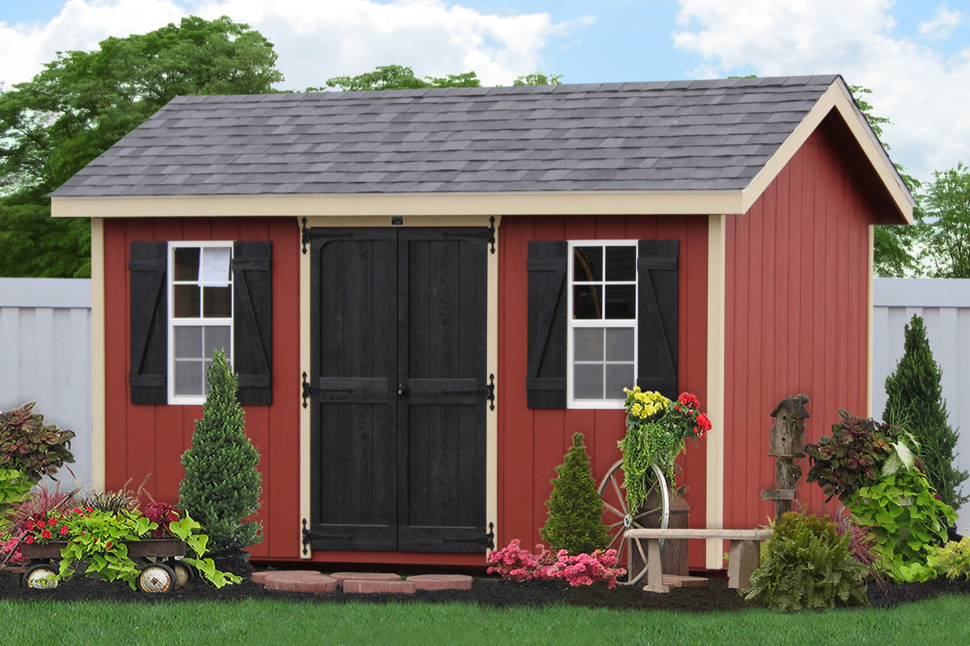 amish storage shed kits pa