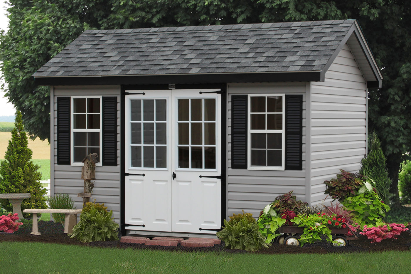 classic amish shed a style pa