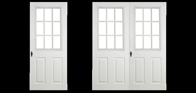 premier vinyl shed doors