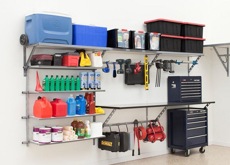 tips for organizing your garage pa