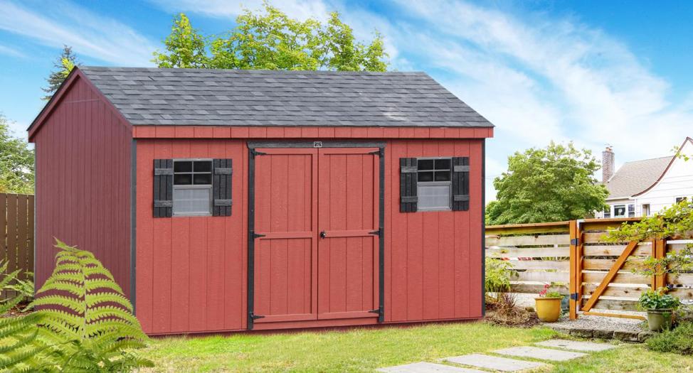 10x10 shed storage barn pa
