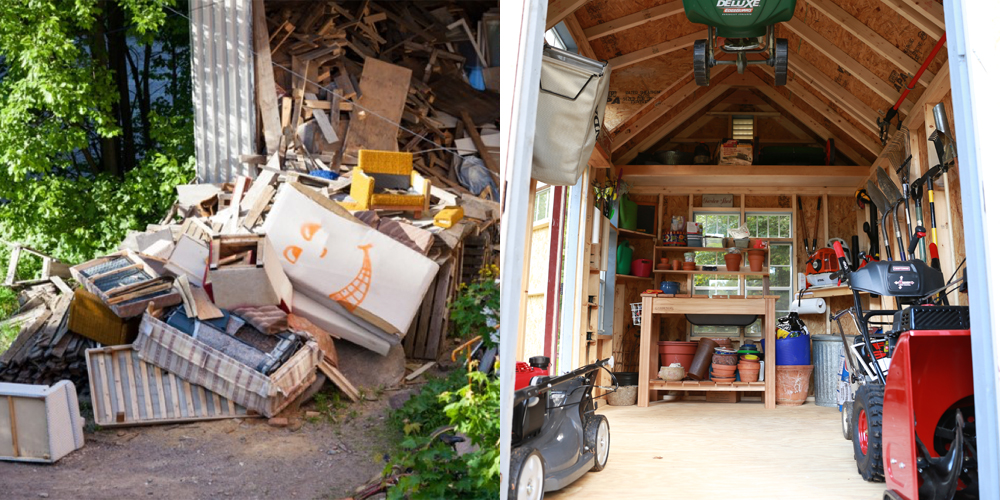 10x10 storage shed