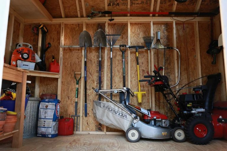the shed storage tools