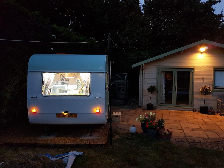 backyard sewing room
