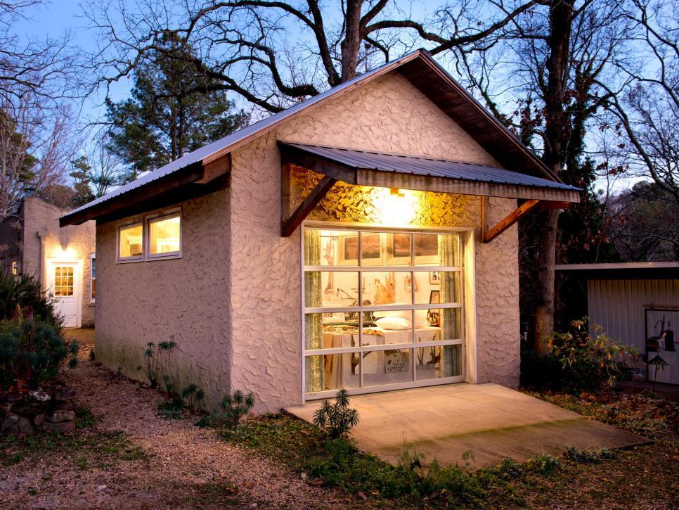 backyard storage building