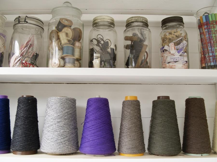 garden shed sewing studio