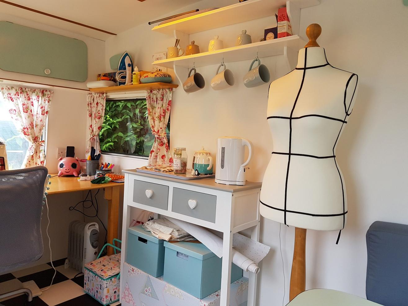 sewing room shed
