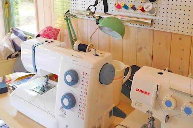 sewing rooms in sheds