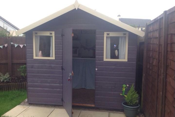 sewing shed outdoor