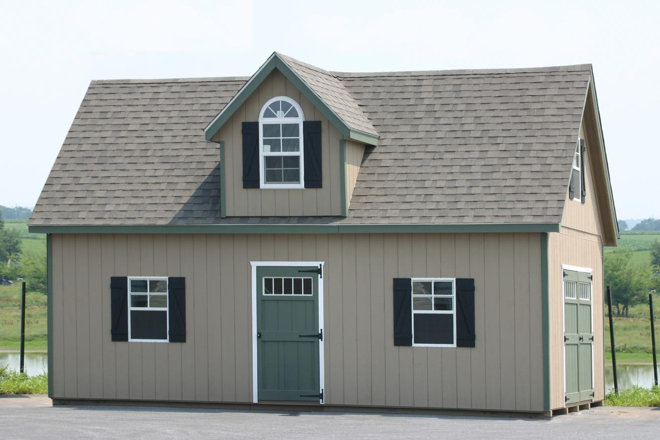 2 story 12x30 shed