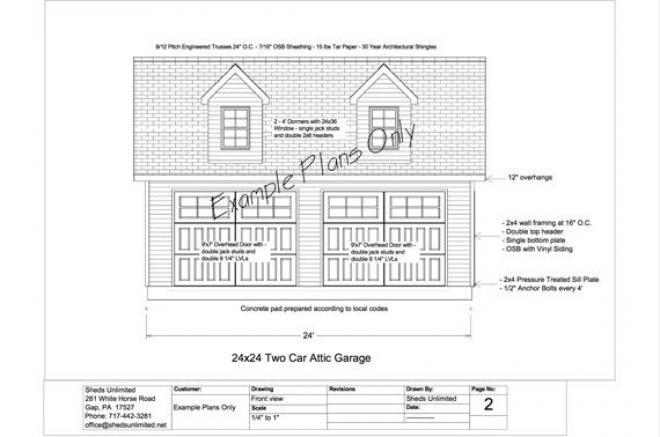 16 ft shed plans