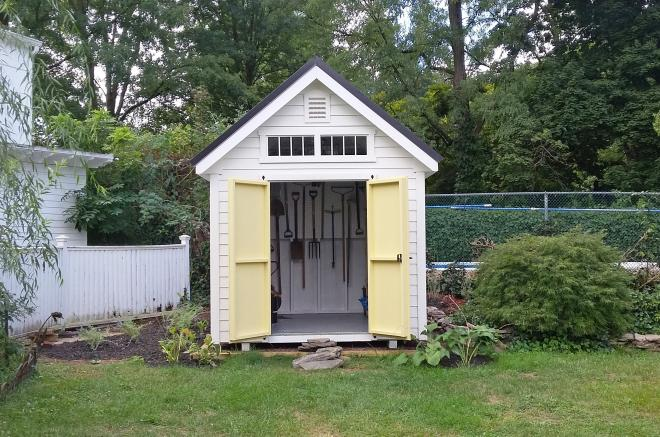 amish garden storage shed