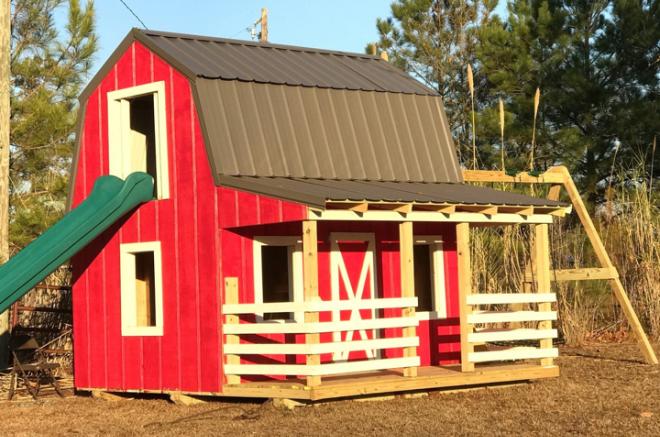 barn playhouse shed