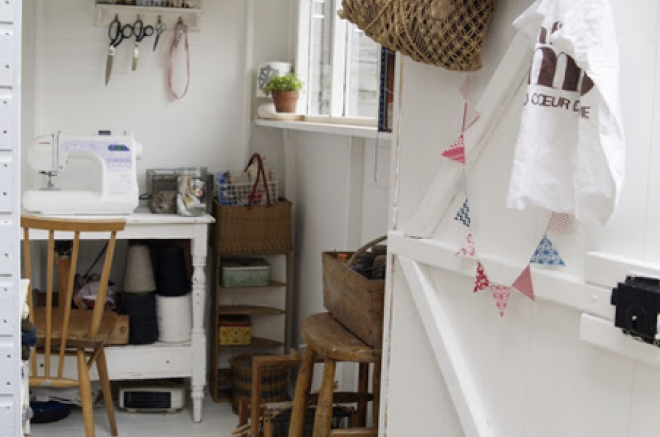 buy she shed for sewing