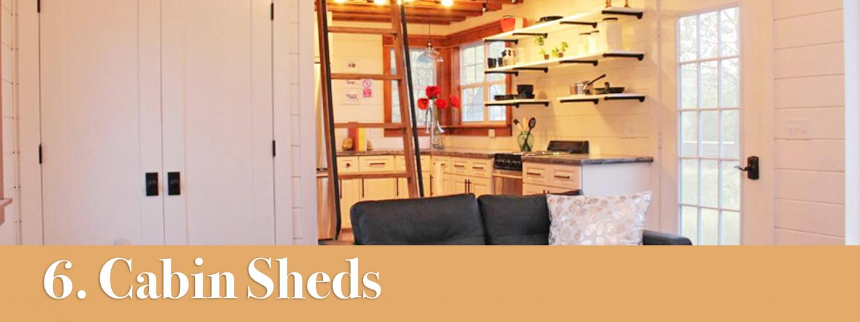 cabin storage shed ideas