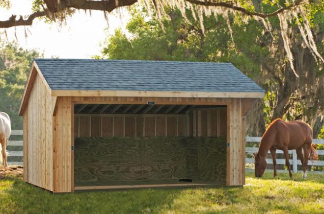 equine shelters storage sheds