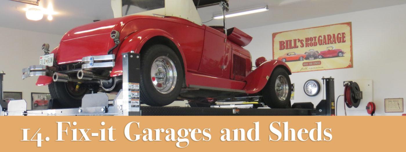 fix it sheds garages