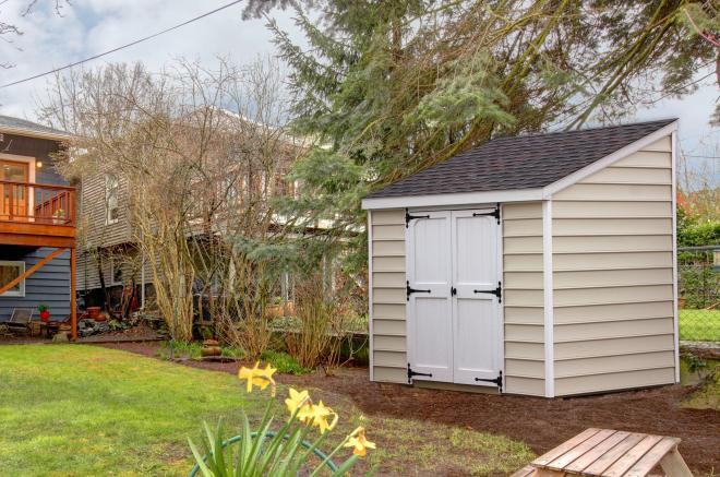 lean to storage sheds