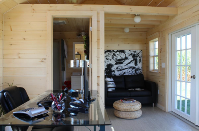 man cave office shed nj