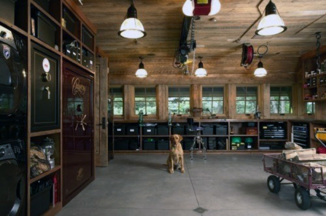 man cave shed