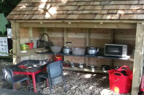 mud pie shed for day care