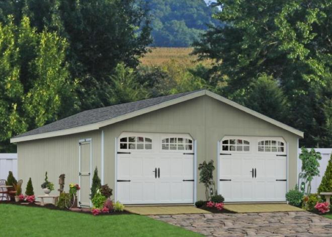 portable storage shed garage pa