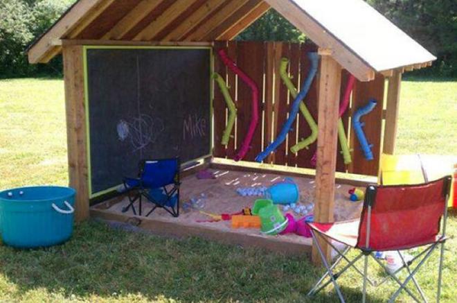 sandbox shed