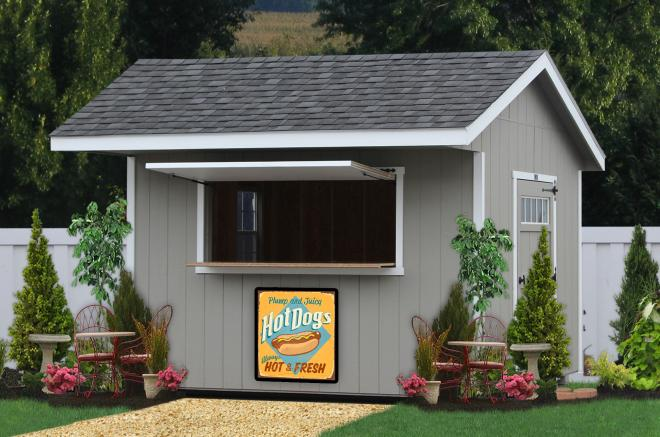shed concession stand for sale