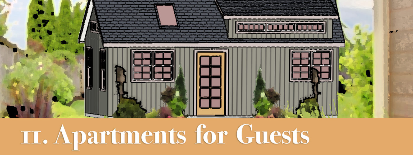 storage shed apartment spaces