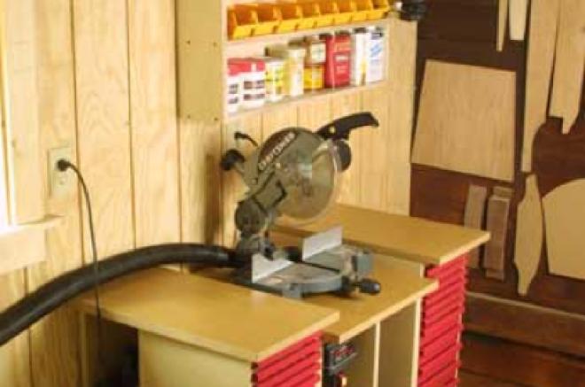 storage shed woodworking shop